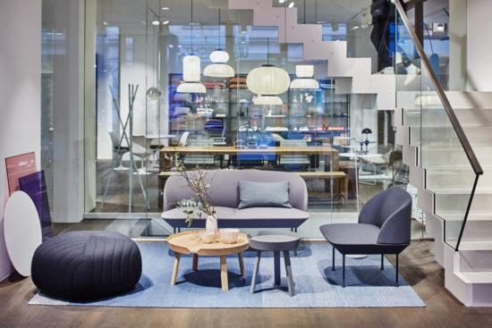 Showroom des Einrichtungshauses Gärtner Internationale Möbel Hamburg