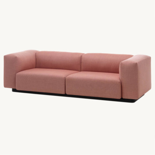 Vitra Soft Modular Zweisitzer Sofa rosa