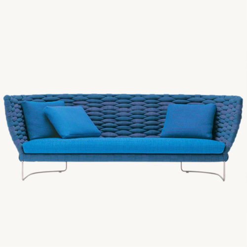 Ami Sofa von Paola Lenti in blau