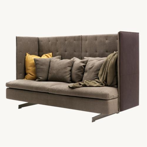 Poltrona Frau GranTorino HB Dreisitzer Sofa