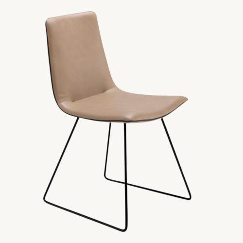 Freifrau Amelie Basic Stuhl Kufengestell