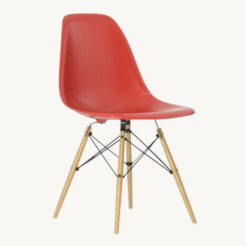 Vitra Eames Plastic Side Chair DSW 1