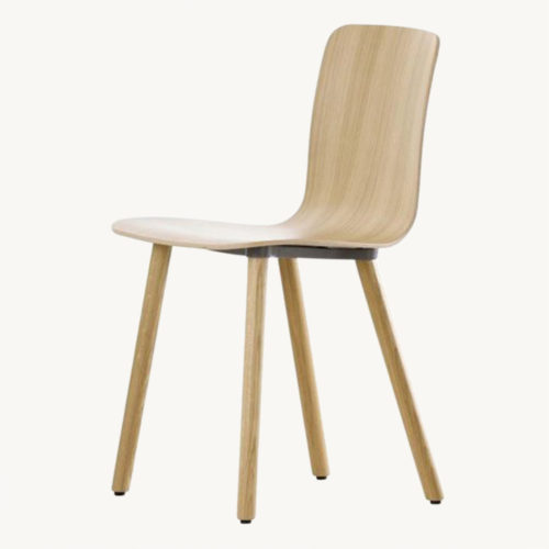 Vitra Hal Ply Wood Stuhl 2 eiche hell