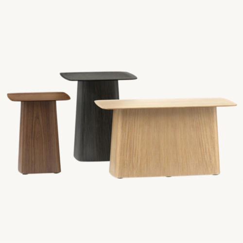 Vitra Wooden Side Tables 0