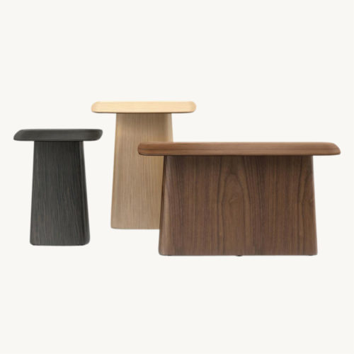 Vitra Wooden Side Tables 3