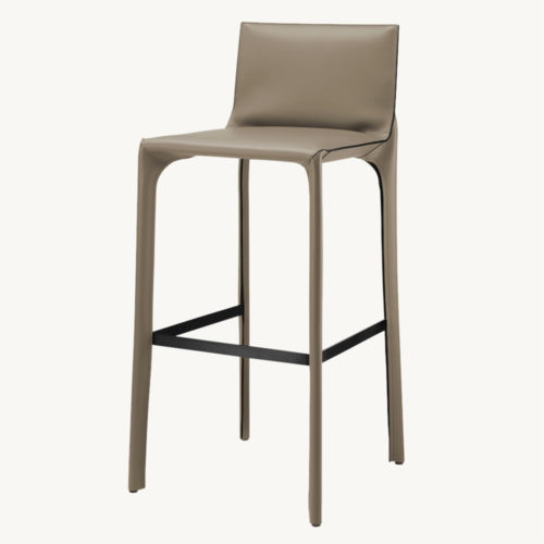 Walter Knoll Saddle Chair Hocker 1