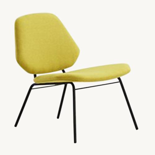 WOUD Lean Loungechair Mustard Yellow 1