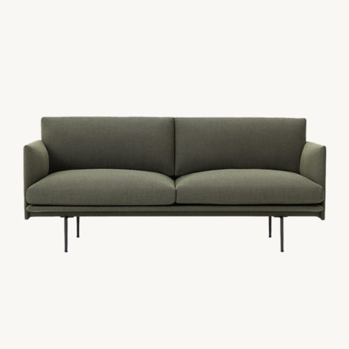 Muuto Outline Sofa 2-Seater Fiord