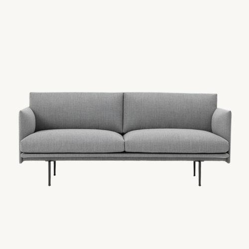Muuto Outline Sofa 2-Seater Fiord 151
