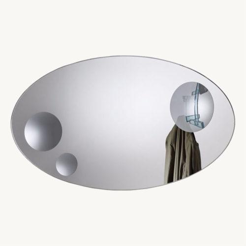 Glas Italia Celeste Spiegel Oval 1