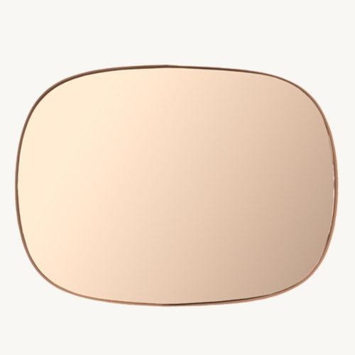 Muuto Framed Mirror Spiegel Klein Rosa