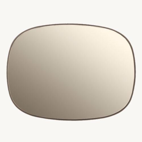 Muuto Framed Mirror Spiegel Klein 2 Taupe