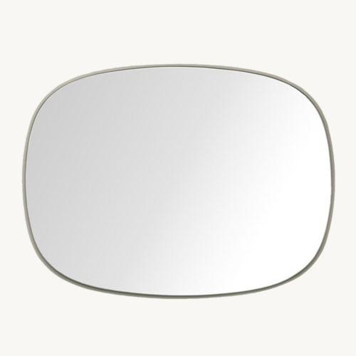 Muuto Framed Mirror Spiegel Klein 3 Grau