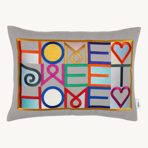 Vitra Embroidered Pillows Home Sweet Home 1