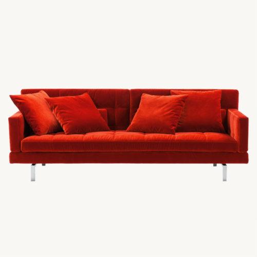 Amber-Sofa-Rot