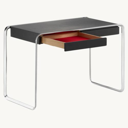 Oblique-Tisch-Tecta-seitlich-Schublade