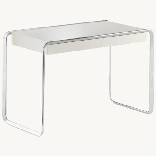 Oblique-Design-Tisch-Tecta-Weiss