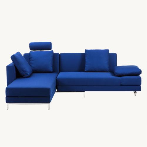 Four-Two-Ecksofa-Blau