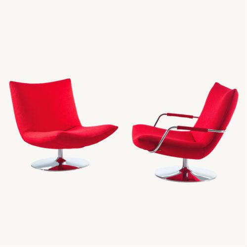 Gerard-Designersessel-Bruehl-Rot