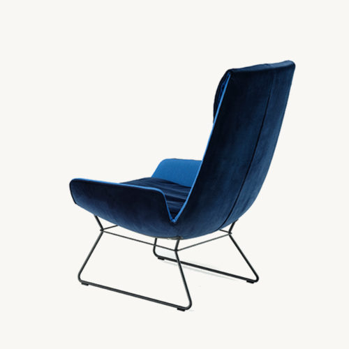 Amelie_Lounge_Chair_Wireframe_blau_hinten_links