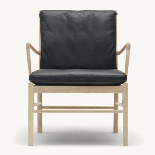 colonial-chair-carl-hansen-schwarz-front