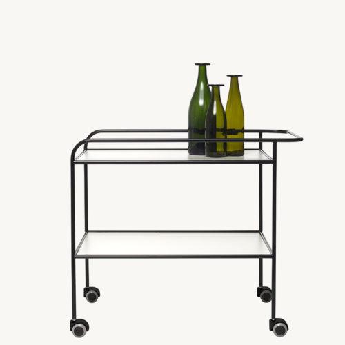 steel_pipe_drink_trolley_black_side_view